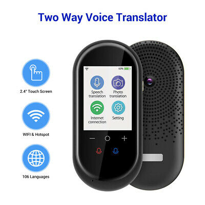 Smart Instant Voice Translator Photo Translation AI Voice Assistant WIFI Version