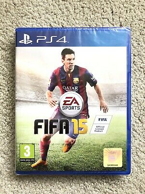 FIFA 15 (Sony PlayStation 4, 2014) - Brand New And Sealed!