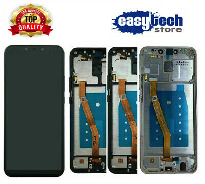 LCD Display con Frame Huawei MATE 20  Lite Touch Screen Schermo Nero / Blu / Oro