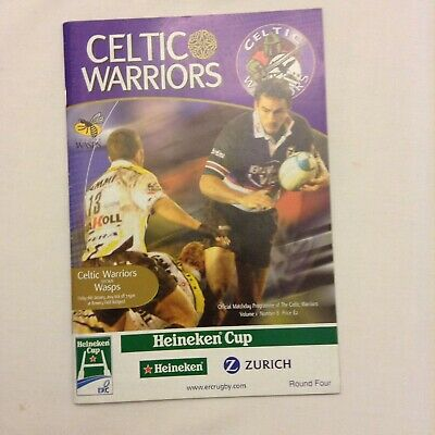 Rugby Union Celtic Warriors V Wasps In Heineken Cup 16/01/2004