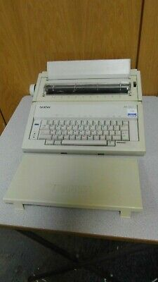 Brother AX-110 Electric Typewriter - Needs New Ribbon