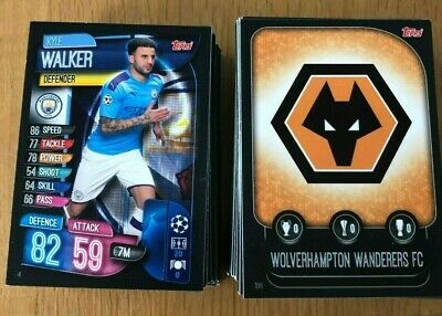Match Attax 19/20 Champions League Base, club badge and duo cards
