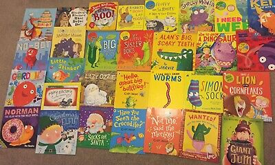 Toddler Childrens Book Bundle X30 Comedy Funny Sue Hendra Hairy Maclary