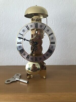 New HERMLE  CLOCK MOVEMENT H791680 Includes dial, Hands, Pendulum , Key.