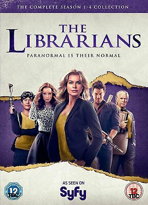Librarians - The Complete Collection (Series 1-4) [DVD]