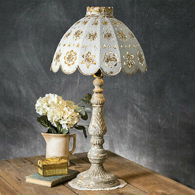 Table Lamp Rustic Farmhouse Vintage Country Style Entryway Livingroom Bedroom