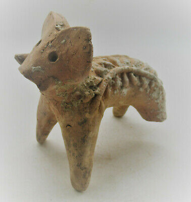 Circa 2200-1800Bce Ancient Indus Valley Harappan Terracotta Elephant Statue