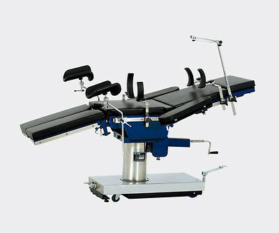 Surgical Operating Table JY-D Multifunction 360 Turntable X-Ray Top New