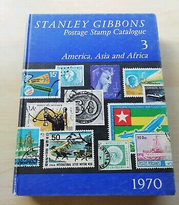 1970 Stanley Gibbons America, Asia and Africa Stamp Catalogue