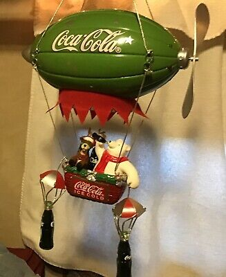 Coca Cola Polar Bear Airship