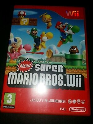 NEW SUPER MARIO BROS.Wii - Wii JEU FR Complet Comme Neuf