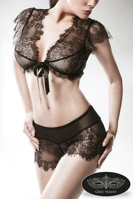 Grey Velvet two-part Lace Set by Grey Velvet 100% polyamide Top, brief