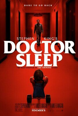 DOCTOR SLEEP (2019) LARGE MOVIE POSTER 27X40-Ewan McGregor, Rebecca Ferguson