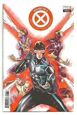 Marvel Comics X-MEN: HOUSE OF X #1 Checchetto CYCLOPS Decades Variant Cover