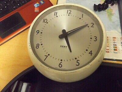 gent eletric vintage office clock