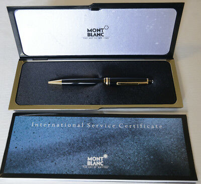 Montblanc Meisterstuck 164 Ballpoint Pen, Black and Gold, 180607-6