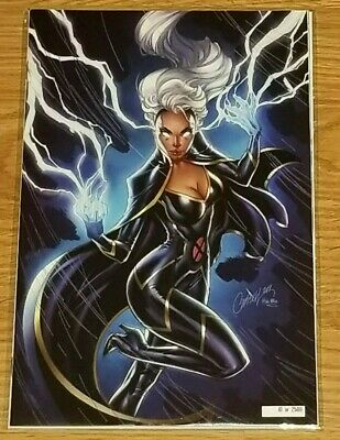HOUSE of X 5 2019 NYCC Storm Exclusive J Scott Campbell Glow in the Dark Variant