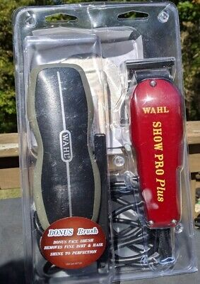 Wahl Professional Animal Show Pro Plus Equine Horse Clipper Grooming Kit Brush