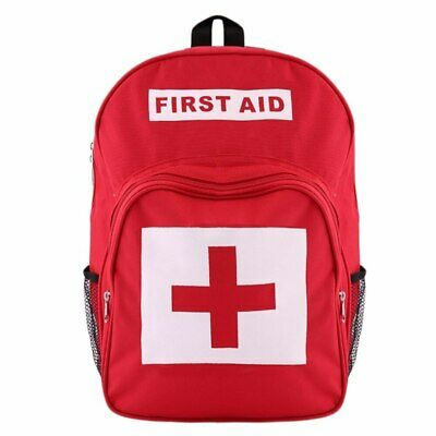 Empty First Aid Backpack - Red -  18L - Sports, Paramedic, Workplace, Schools