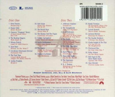 Forrest Gump - The Soundtrack [CD]