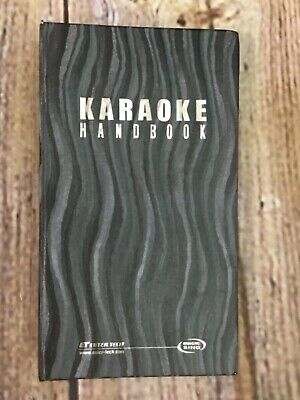 Karaoke Handbook Wow Magic Sing Fiesta Edition ED9000 User's Manual Song List