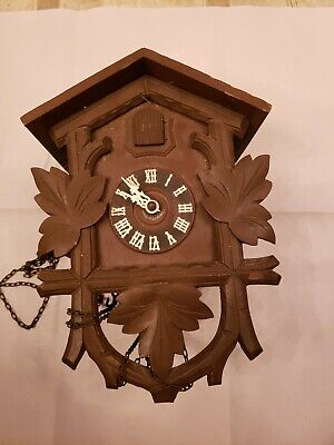 Antique German Black Forest Cuckoo Clock - repair or for parts