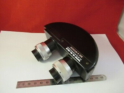 WILD HEERBRUGG SWISS BINOCULAR HEAD M20 OPTICS MICROSCOPE as pictured &14-A-45