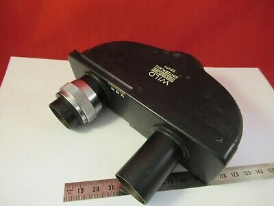 WILD HEERBRUGG SWISS BINOCULAR HEAD M20 OPTICS MICROSCOPE as pictured &14-A-46