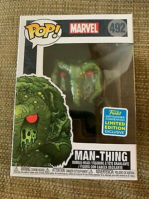 Funko Pop! Marvel Man-Thing 2019 SDCC Summer Convention Exclusive