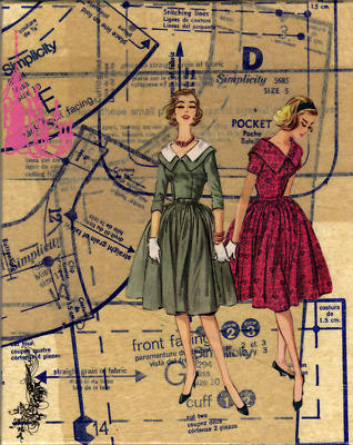 Simplicity Vintage Sewing Patterns {Choose} 1940's - 1970's OPP