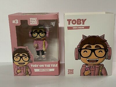 Youtooz Toby On The Tele Vinyl Figure *Sold Out* W/ Sleeve Brand New Unused Code