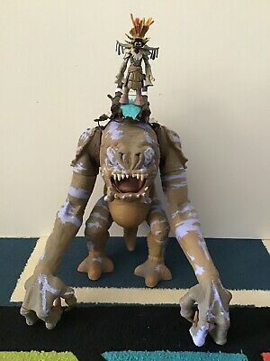 Star Wars Unleashed Battle Rancor Action Figure Toy Rare