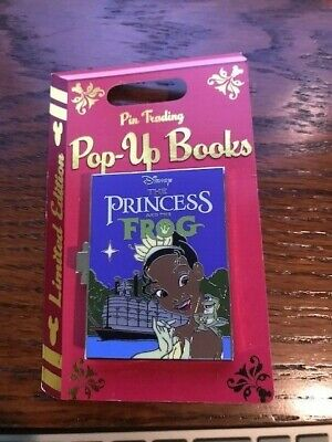 Disney ParksThe Princess and the Frog Pop-Up Books Limited Edition Hinge Pin