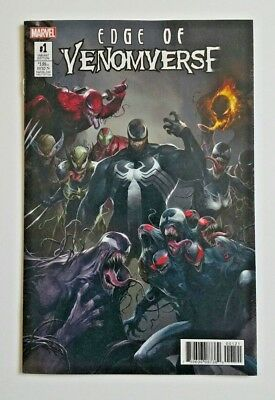 EDGE OF VENOMVERSE #1 Variant Marvel 2017 Francesco Mattina 1:50 Venom NM