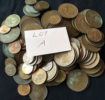 Vintage BULK Stash 750g Of Mixed Unsorted Coins