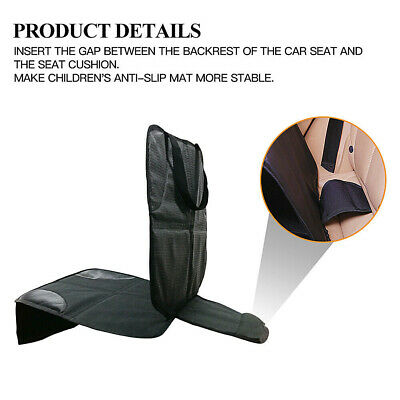 Car Baby Seat Protect Anti-Slip Mat Child Safety Waterproof Cushion Cover U2I4H