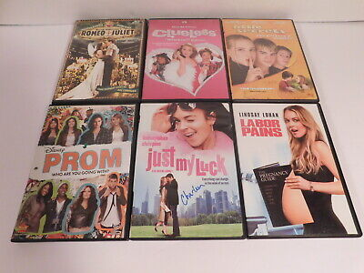 Lot of DVD Teen Movies Prom Clueless Labor Pains & More