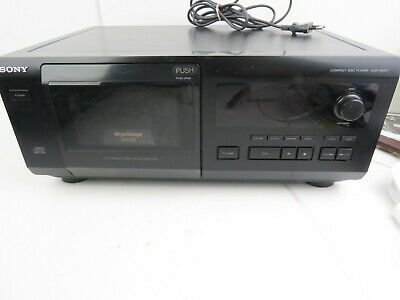 Sony CDP-CX571 Home Audio 50+1 CD Mega Storage Compact Disc Changer Player