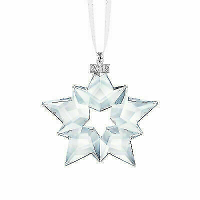 Swarovski 5427990 Crystal Annual Edition 2019 Christmas Ornament Star