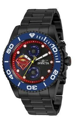 Invicta DC COMICS SUPERMAN Men's Chronograph Limited Edition 43mm Watch 29065