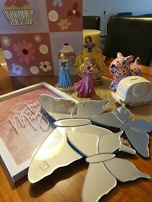Disney Princess Figurines And Room Decorations