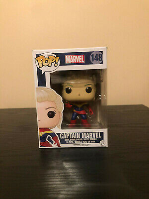 Funko Pop! Marvel - Captain Marvel (Unmasked) (#148)
