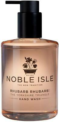 Noble Isle Rhubarb Rhubarb Hand Wash - 250ml Bottle - NEW