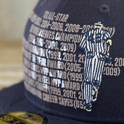 New Era New York Yankees Mariano Rivera Career Achievements 59Fifty Fitted Cap