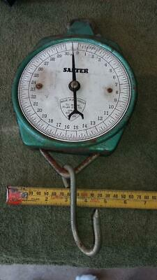 Vintage Salter Scales,No 235.kitchen,weight,fish,old,house,tools,workshop,shed.