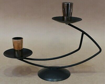Vintage Retro Mid Century Candlestick Candle Holder