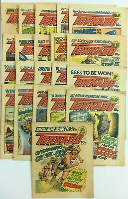 Tornado UK Comics Set #1-22 1979 (missing #17)