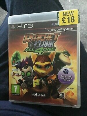 Ratchet & Clank: All 4 One (Sony PlayStation 3, 2011) - European Version
