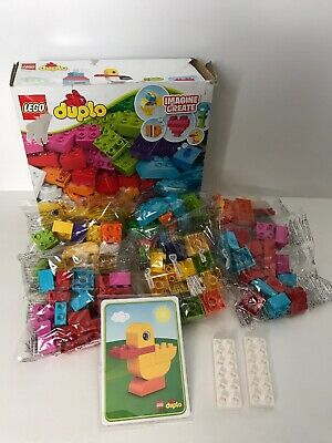 LEGO DUPLO My First 10848 My First Bricks Age 1-3 80pcs Sealed Bags