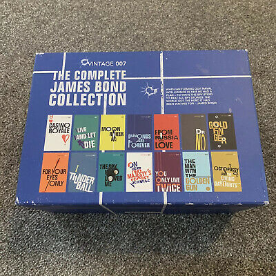 The Complete James Bond Collection books, Vintage 007, Set of 14 books